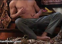 Arab Stud Busts A Hot Creamy Nut - Arabian Dicks